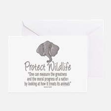 Protect Elephants Greeting Cards (Pk of 20)