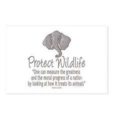 Protect Elephants Postcards (Package of 8)