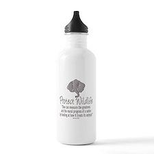 Protect Elephants Water Bottle