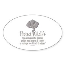 Protect Elephants Decal