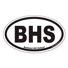 Belmont Hill School Oval Decal