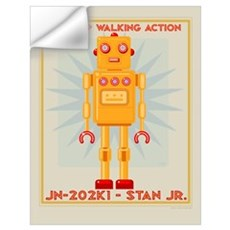 Stan Jr. Robot Wall Decal