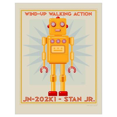 Stan Jr. Robot Poster