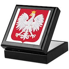 Polish Eagle Crest Keepsake Box