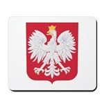 Polish Eagle Crest Mousepad