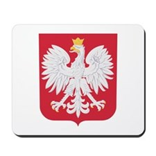Polish Eagle Crest Mousepad