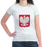 Polish Eagle Crest Jr. Ringer T-Shirt