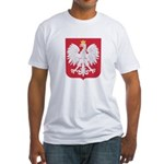 Polish Eagle Crest Fitted T-Shirt