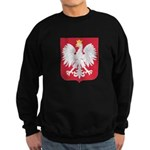 Polish Eagle Crest Sweatshirt (dark)