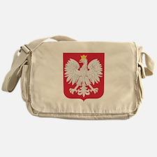 Polish Eagle Crest Messenger Bag
