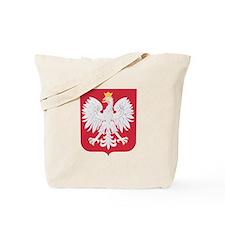 Polish Eagle Crest Tote Bag