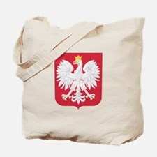 Polish Eagle Crest Tote Bag