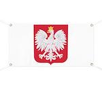 Polish Eagle Crest Banner