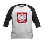 Polish Eagle Crest Kids Baseball Jersey