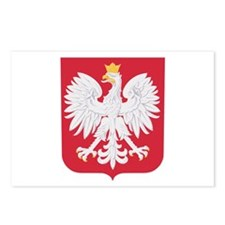 Polish Eagle Crest Postcards (Package of 8)