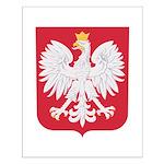 Polish Eagle Crest Small Poster