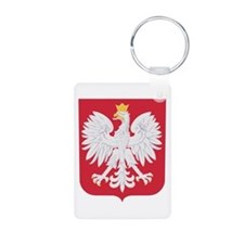 Polish Eagle Crest Keychains