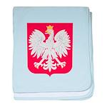 Polish Eagle Crest baby blanket