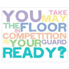 Take the floor Poster