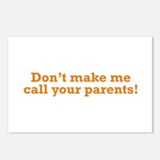 Call your Parents Postcards (Package of 8)