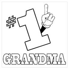 #1 - GRANDMA Poster