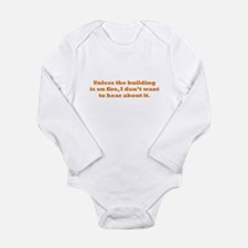 Hear about it Long Sleeve Infant Bodysuit