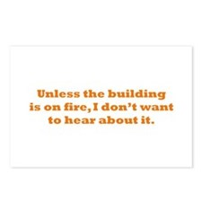 Hear about it Postcards (Package of 8)