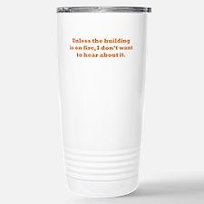 Hear about it Travel Mug