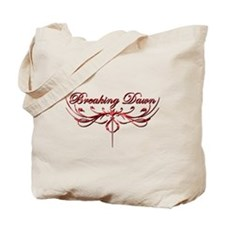 Breaking Dawn Twilight Red Tote Bag