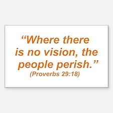 No Vision Decal