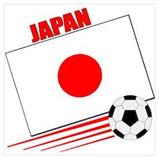 Japan Soccer Team Poster