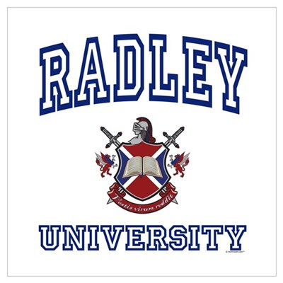RADLEY University Canvas Art