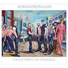 Folsom Street Poster