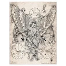 Archangel Zadkiel Poster