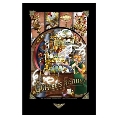 Coffee Engine Poster
