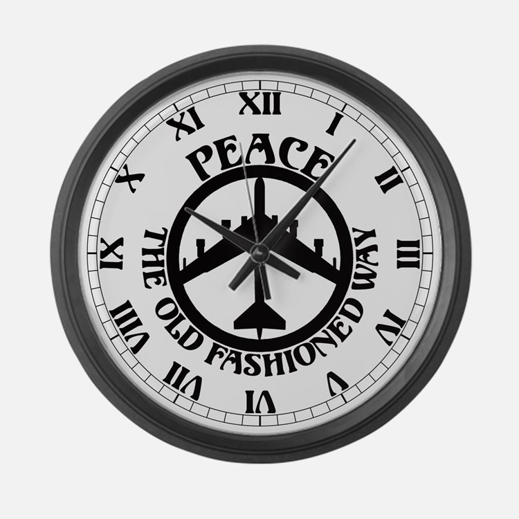 B 52 Peace The Old Fashioned Way Clocks B 52 Peace The