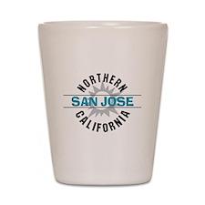 San Jose California Shot Glass