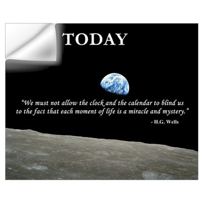 - Live Today Wall Decal