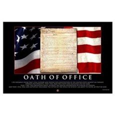Oath of Office 23x35 Poster
