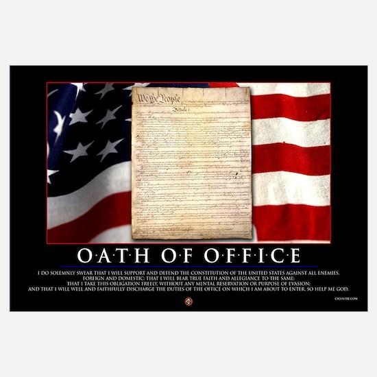 Oath of Office 23x35