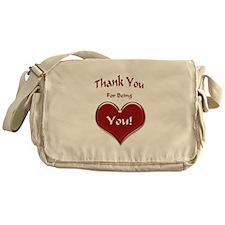 Thank You Messenger Bag
