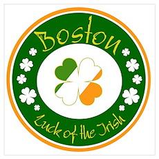 Luck of the Irish (Boston) Poster