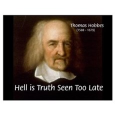 Thomas Hobbes Truth Poster