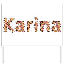 Karina Fiesta Yard Sign