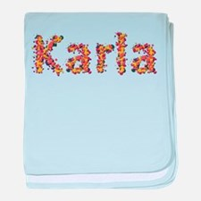 Karla Fiesta baby blanket