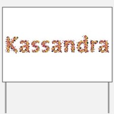 Kassandra Fiesta Yard Sign