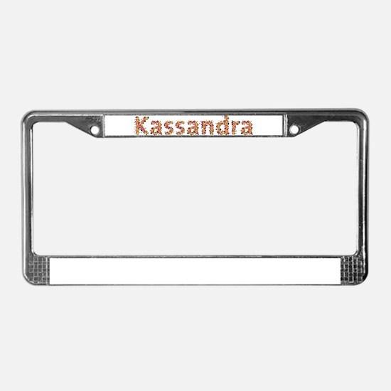 Kassandra Fiesta License Plate Frame
