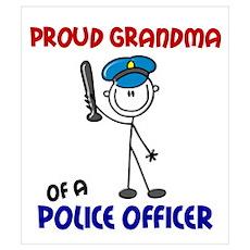 Proud Grandma 1 (Police Officer) Poster