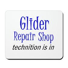 Glider Repair Shop Mousepad