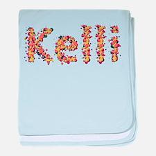 Kelli Fiesta baby blanket